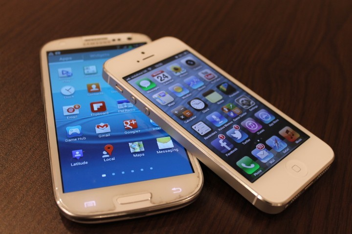 iPhone 5 and Galaxy S3