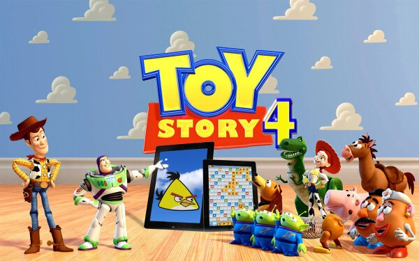 Rumored artist rendition of what the Toy Story 4 poster might look like/Twitter