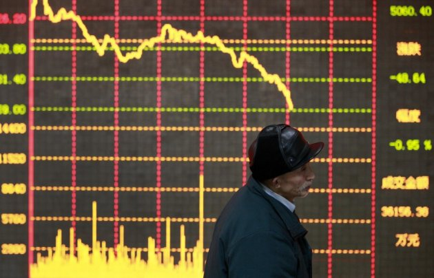Asian markets fall as fed minutes spark concerns