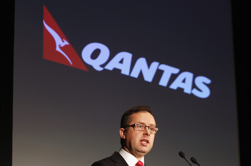 Qantas Chief Executive Officer Joyce