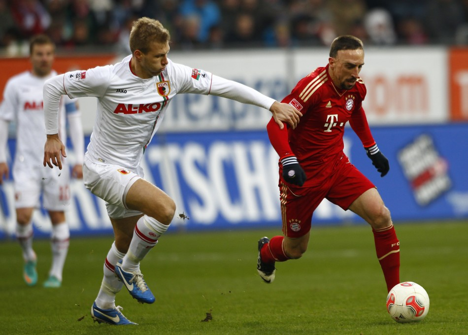 Franck Ribery (R)
