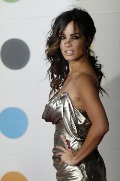 French actress Berenice Marlohe arrives for the BRIT Awards, celebrating British pop music, at the O2 Arena in London February 20, 2013.