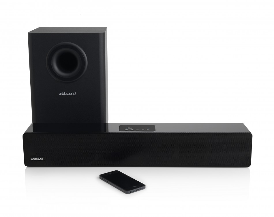 Orbitsound M12 Soundbar and subwoofer