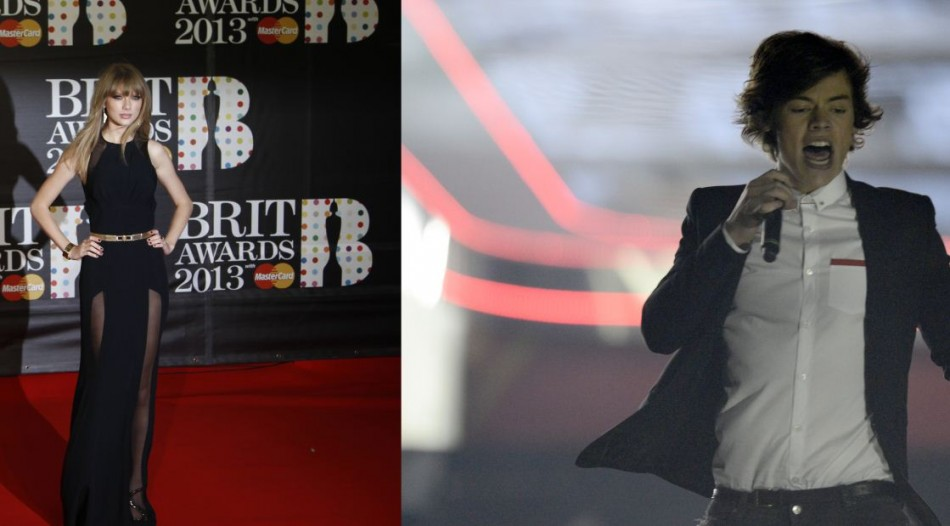 Harry Styles complimented Taylor Swift for her Brit Awards Performance.