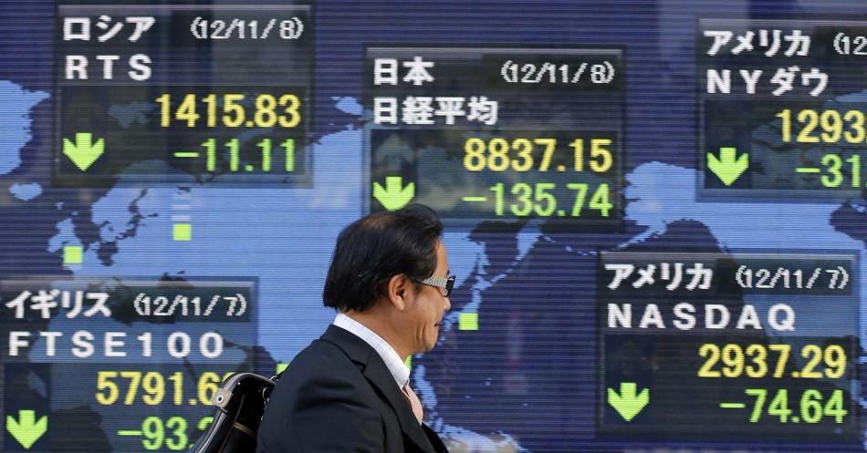 Asian markets weak on eurozone concerns