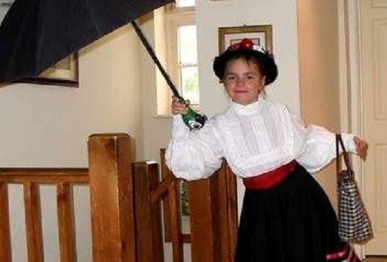 Jemima Prees plays Mary Poppins