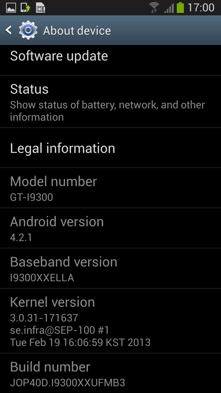 Update Galaxy S3 I9300 to Android 4.2.1 Jelly Bean with XXUFMB3 Official Test Firmware [How to Install]
