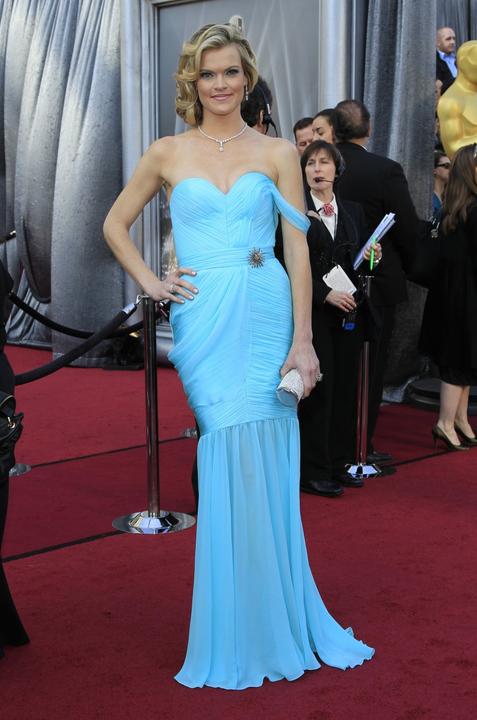 Actress Missi Pyle from the film The Artist arrives at the 84th Academy Awards in Hollywood, California, February 26, 2012.