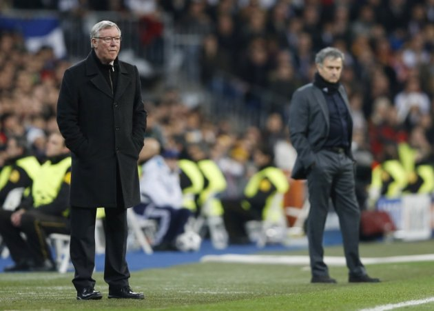 Ferguson is hopeful of seeing off Jose Mourinho's Real Madrid