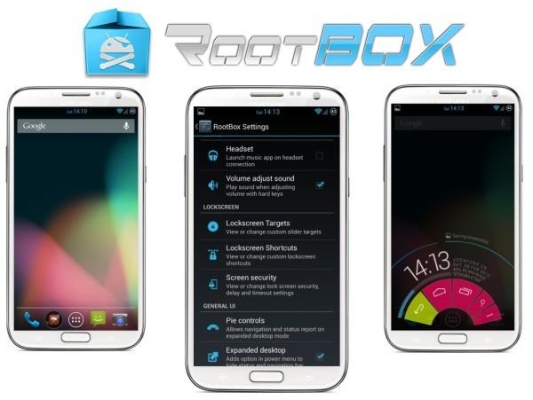 Android 4.2.2 Vanilla RootBox Jelly Bean ROM