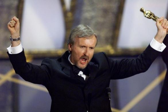Who are you calling big headed? says James Cameron, winner of Best Director for Titanic in 1998
