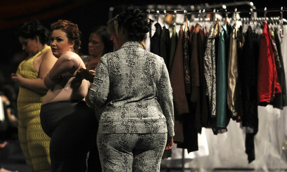 Fashion Weekend Plus Size 2013 Plus Size Models Show Off Curves On