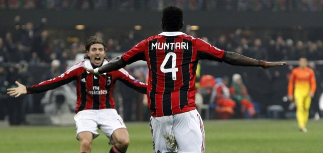AC Milan beat Barcelona 2-0 in midweek