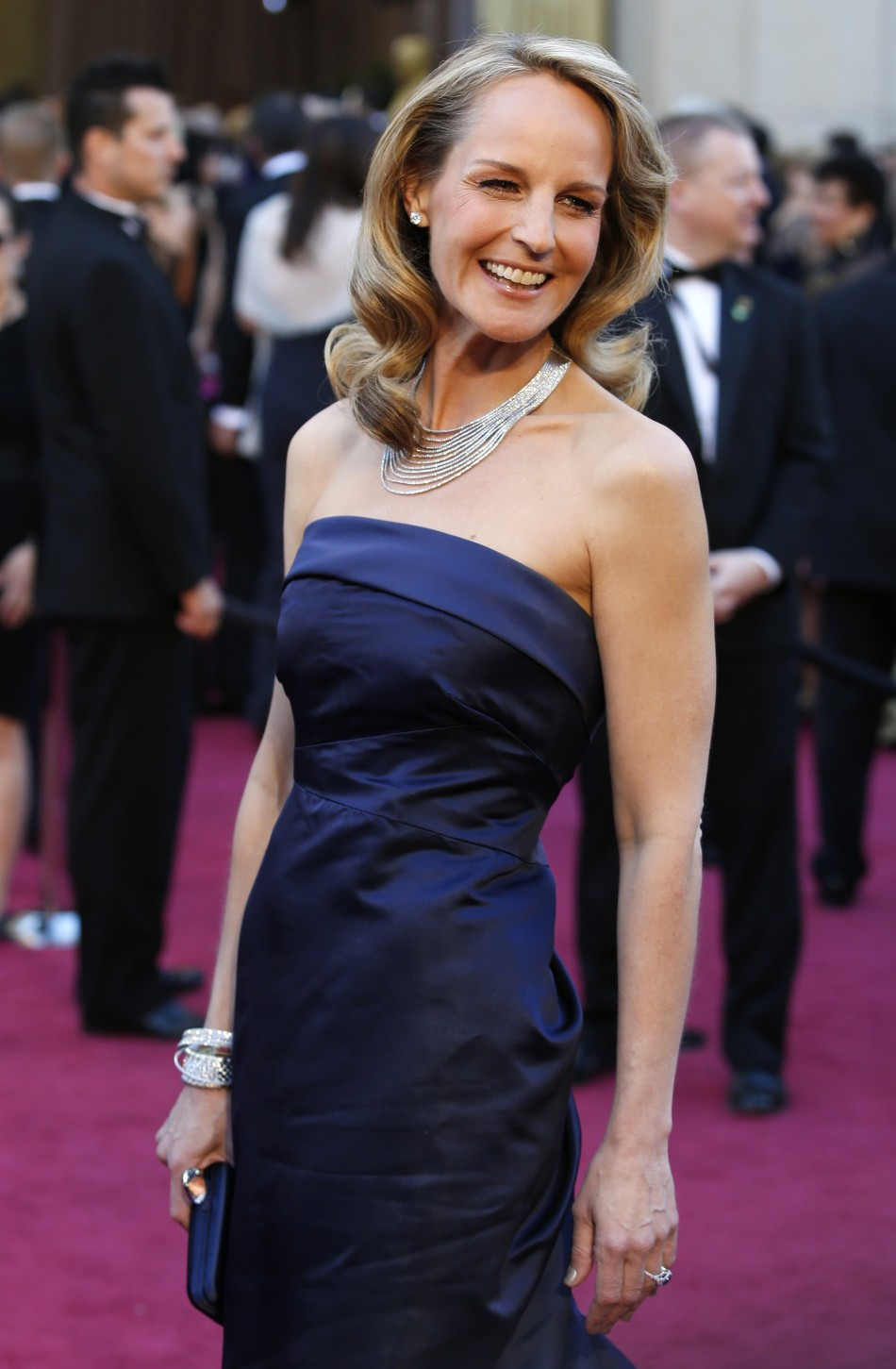 Actress Helen Hunt arrives at the 85th Academy Awards in Hollywood, California February 24, 2013