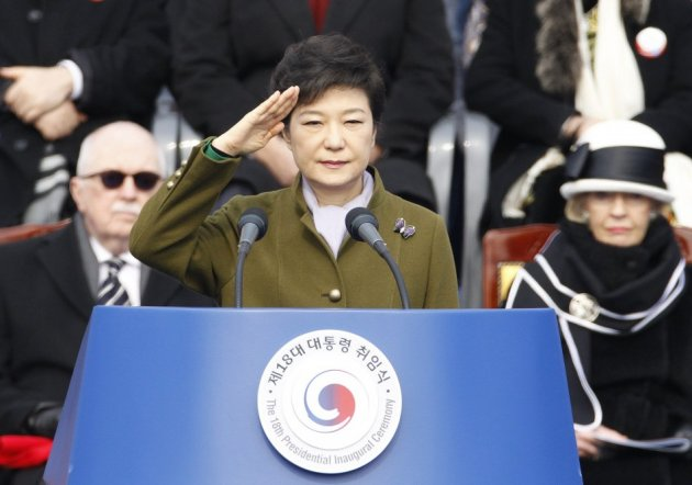 South Korea first female president
