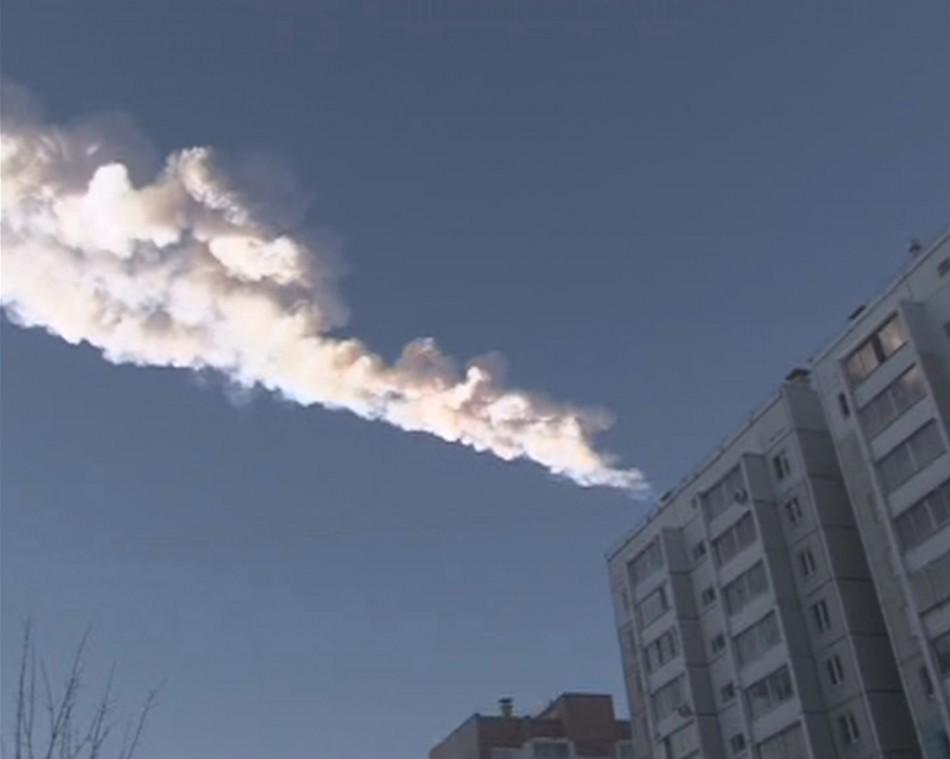 Russia Meteor Strike