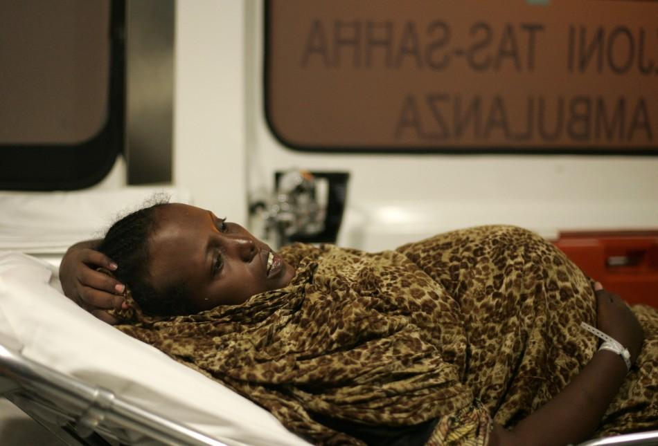 pregnant asylum seeker