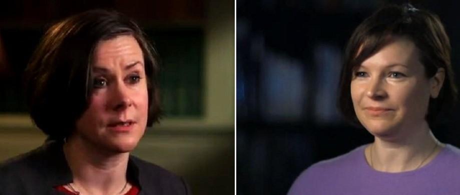 Sex claims: Bridget Harris (l) and Alison Smith