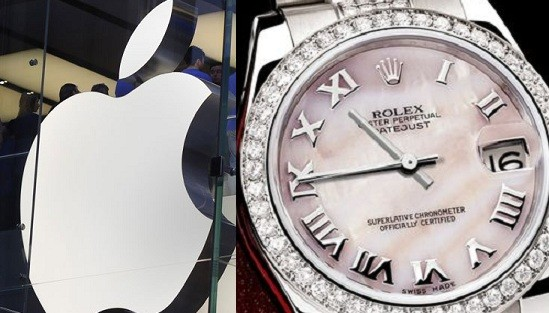 Apple and Rolex