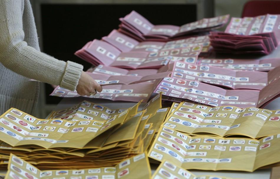 Italy election resutls