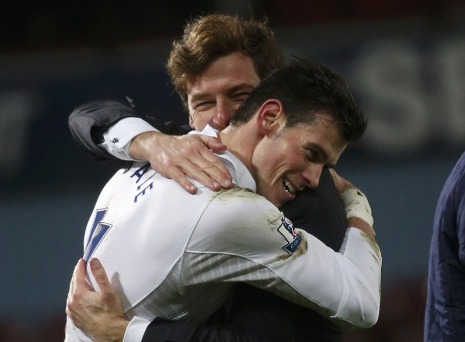 Gareth Bale and Andre Villas-Boas