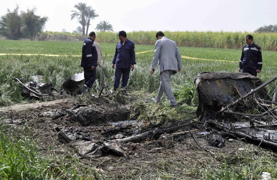 Egypt - Luxor Balloon crash