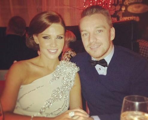 Danielle Lloyd and Jamie O'Hara