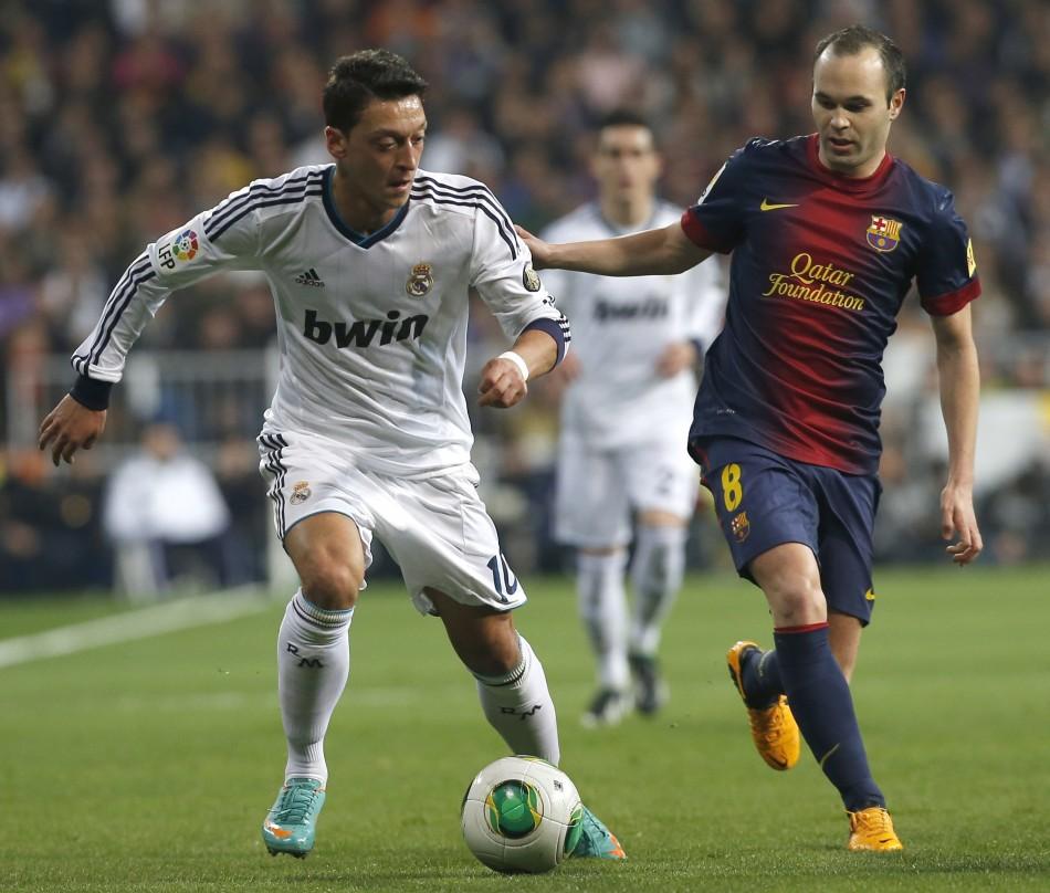 Ozil and Iniesta
