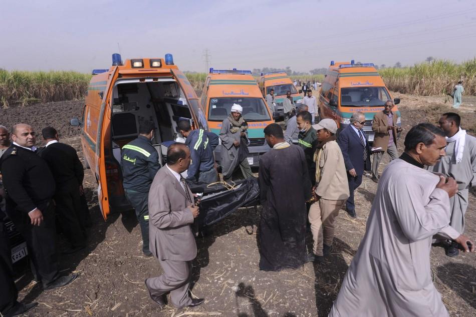 Egypt Luxor balloon crash