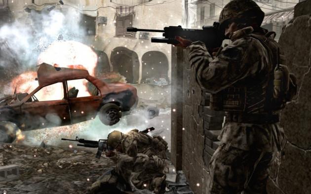Call of Duty sandy hook violent games obama