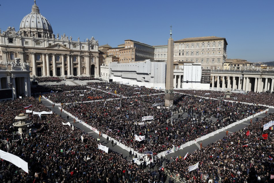 St Peter's Square Witnesses Pope's Final Appearance