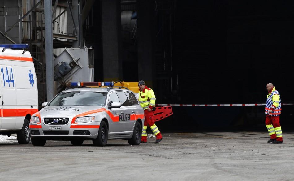 Menznau factory shooting