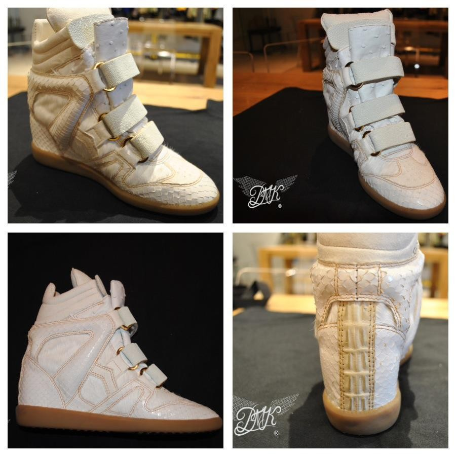 King Bey Isabel Marant Sneaker Wedge