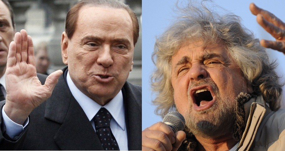 Berlusconi and Beppe