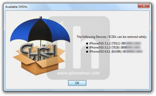 How to Save Apple iOS 6.1.2 SHSH Blobs for Future Downgrade Using TinyUmbrella v6.12.00 [GUIDE]