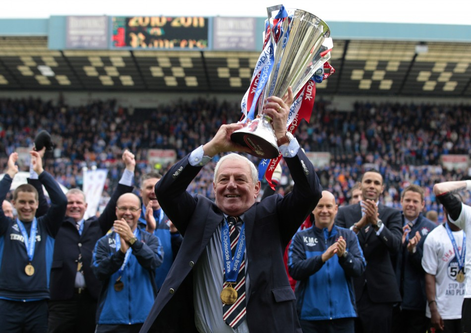 Rangers faced losing the five titles they won between 2000 and 2011 (Reuters)
