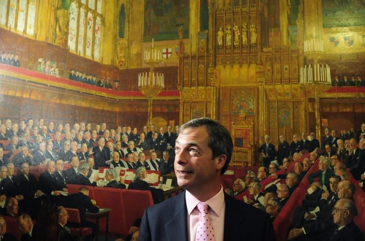 Just dreaming? Ukip leader Nigel Farage has spoken of victory in Eastleigh