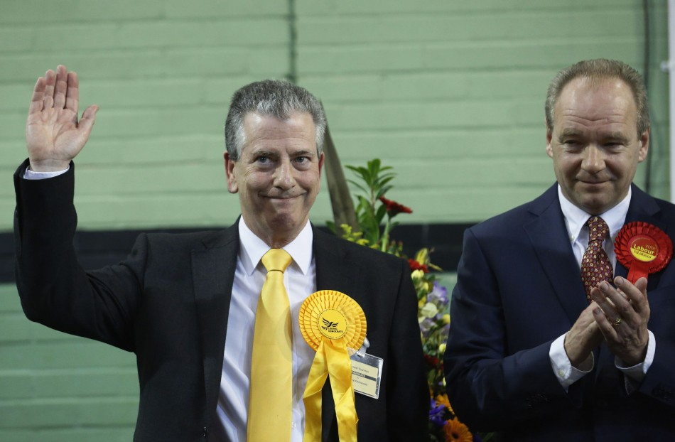 Lib Dem victory at Eastleigh