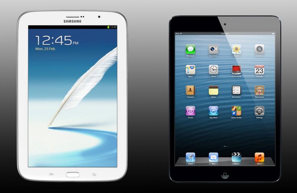 Samsung Galaxy Note 8.0 Vs Apple iPad Mini