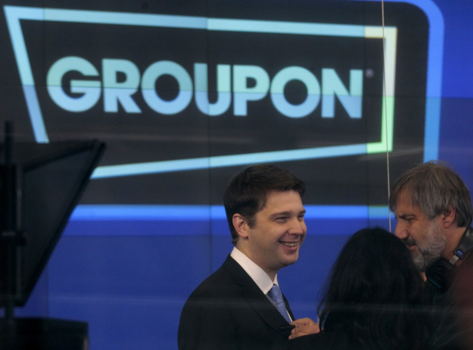 who is the ceo of groupon