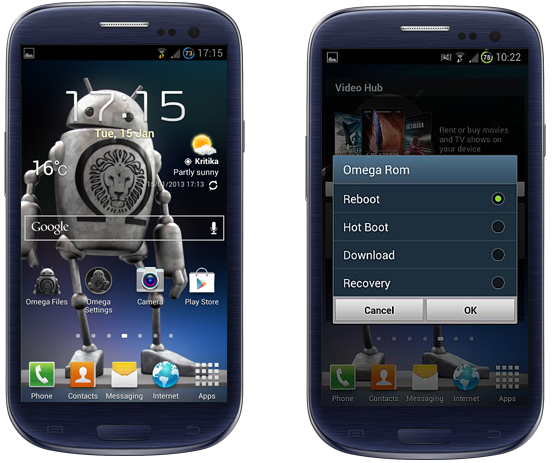 Galaxy S3 I9300 Gets Android 4.2.1 XXUFMB3 Based Omega Jelly Bean ROM [How to Install]