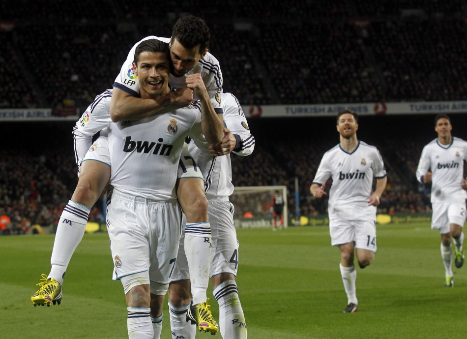 Real Madrid beat Barcelona 3-1 on Tuesday