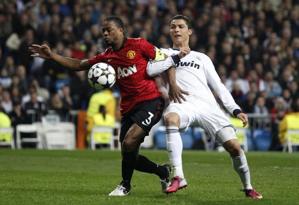 Real Madrid v Manchester United