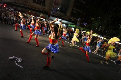 Participants march in the 35th annual Sydney Gay and Lesbian Mardi Gras parade March 2, 2013.