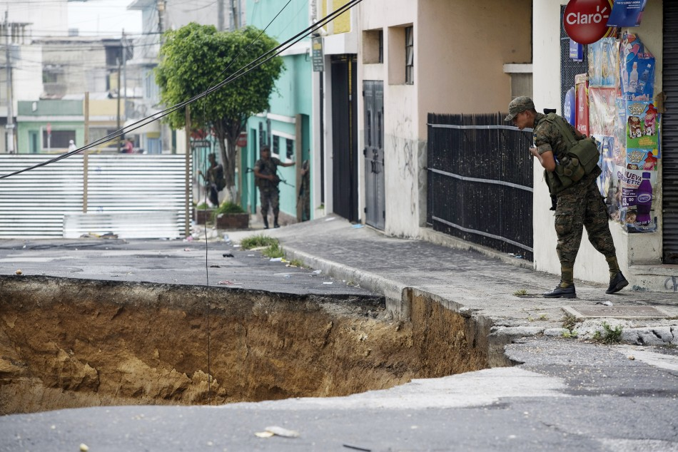 Sinkholes Around the World