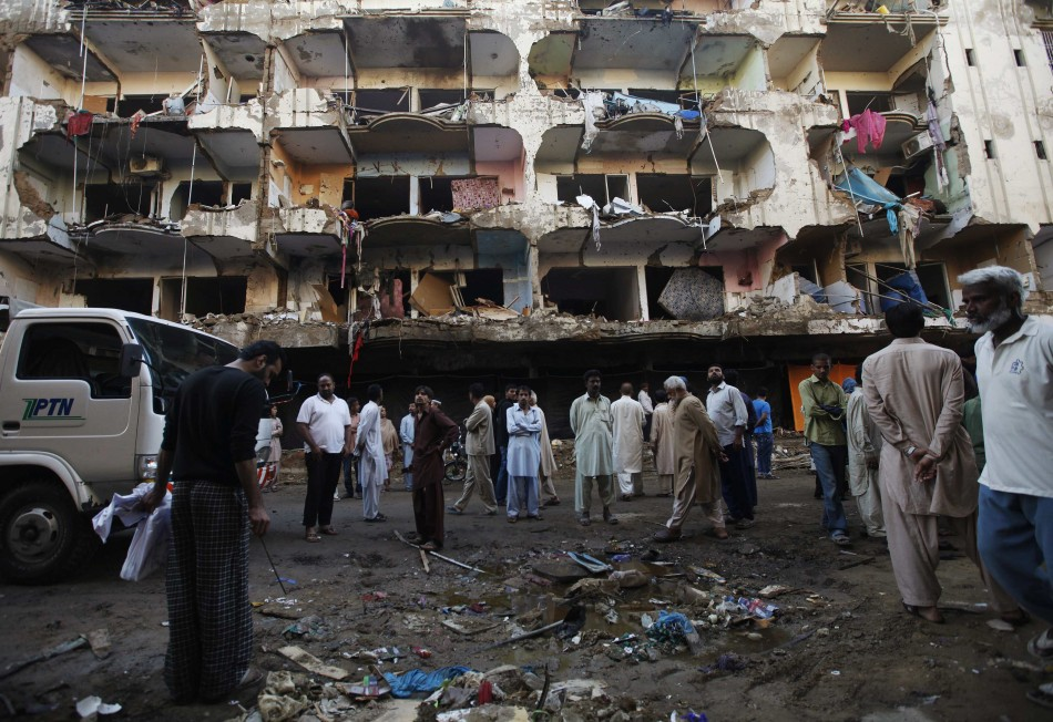 bomb blast in karachi An emergency was also declared in hospitals of khuzdar and karachi  in the blast will be transported to karachi, said the home  after a bomb blast at a.
