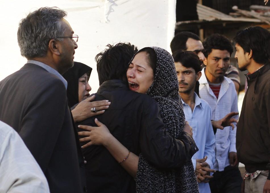 Pakistan Karachi blast