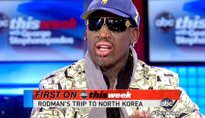 Rodman describes his 'friend' Kim Jung-Un