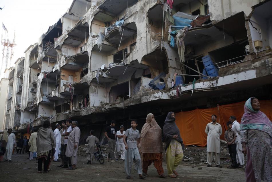 karachi bomb