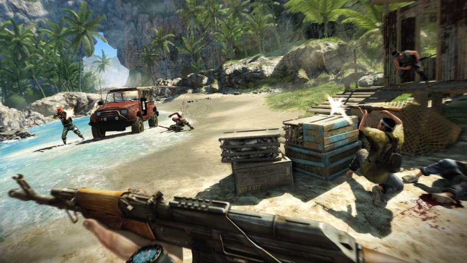 Far Cry 3 game BAFTA